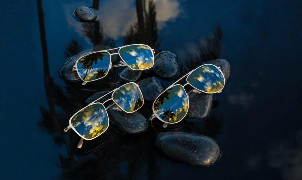 Lunettes de soleil aviateur Maui Jim