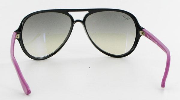 Non contente de posséder l un des looks les plus en vogue du moment, ces lunettes  de soleil Ray-Ban Cats ... 121af0c26499