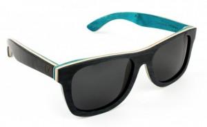 Ozed est l'une des rares marques à proposer des lunettes fabriquées avec des planches de Skateboard